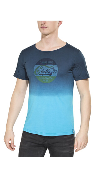 Chillaz Cult Retro t-shirt Heren blauw/turquoise